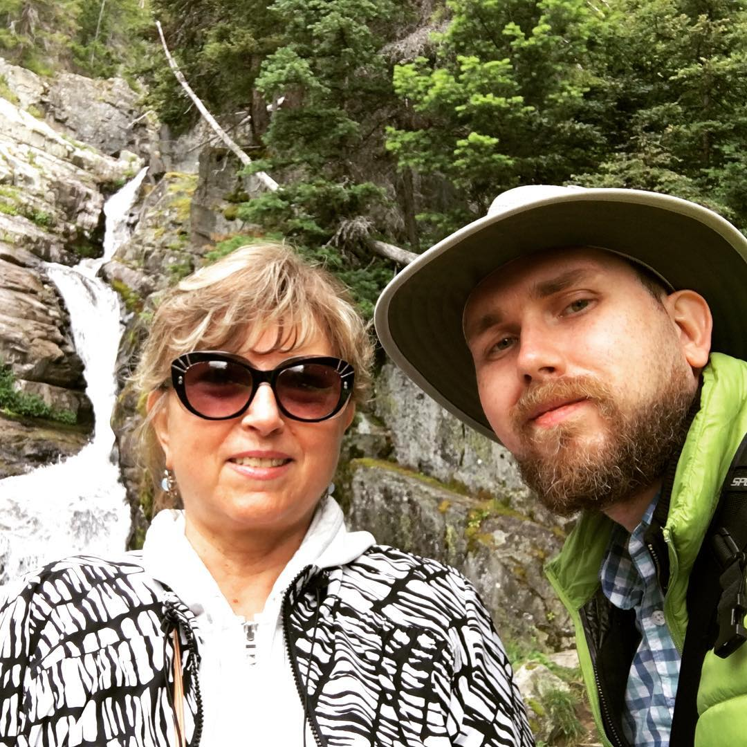 Teaching Mom Selfies