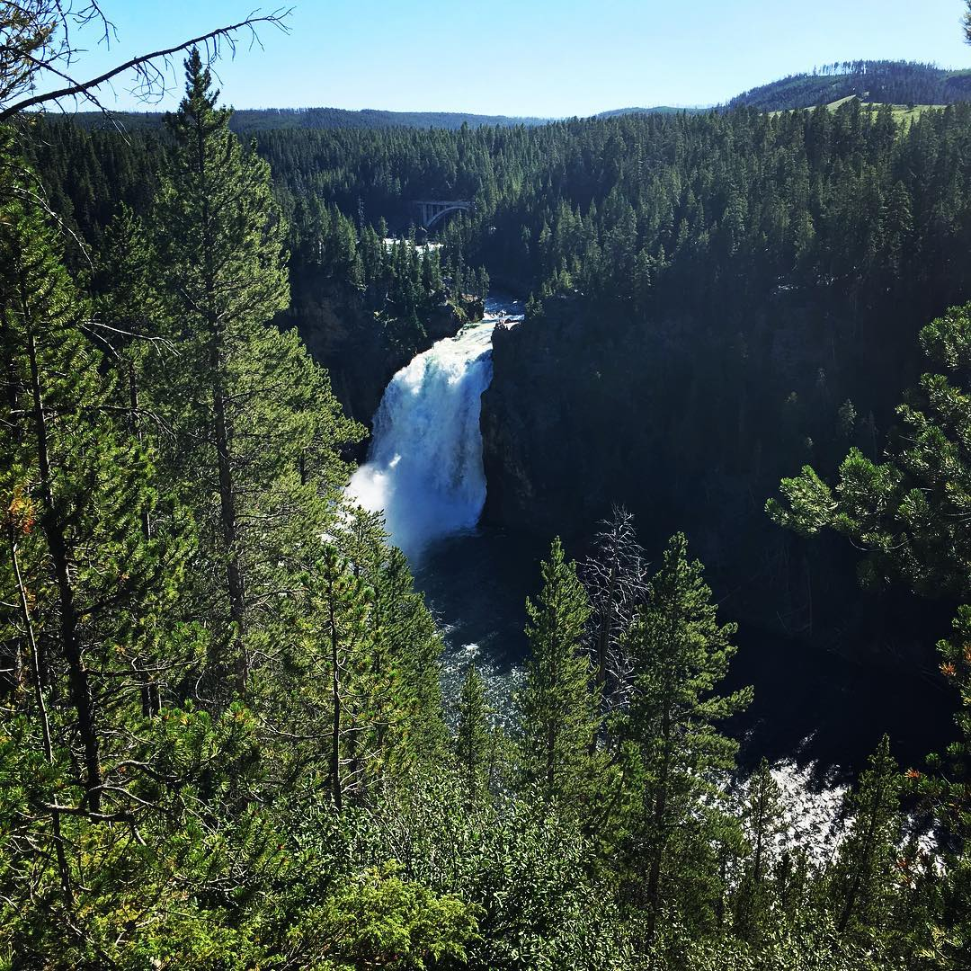 Yellowstone Canyon Falls