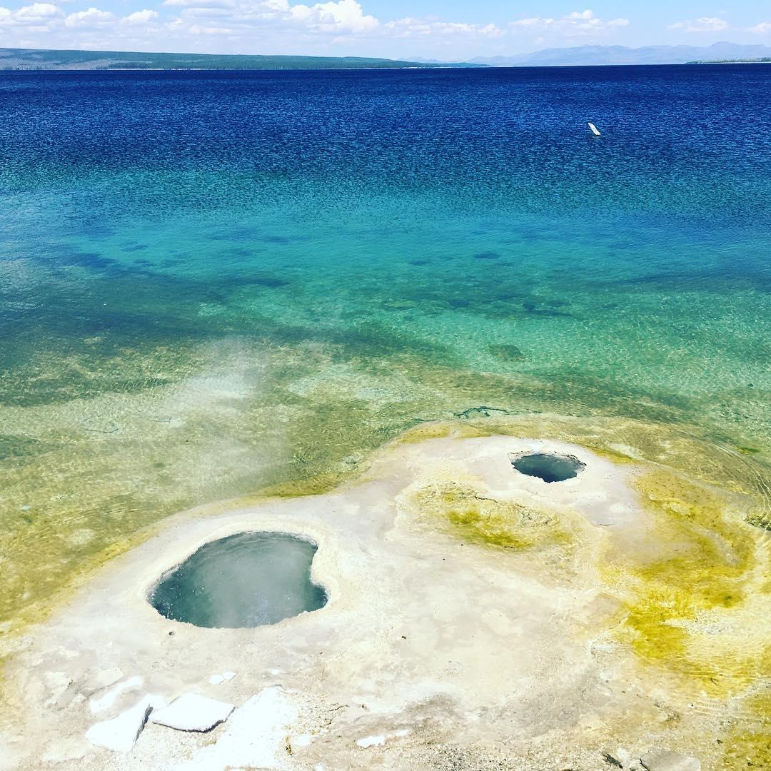 Lakeside Geyser