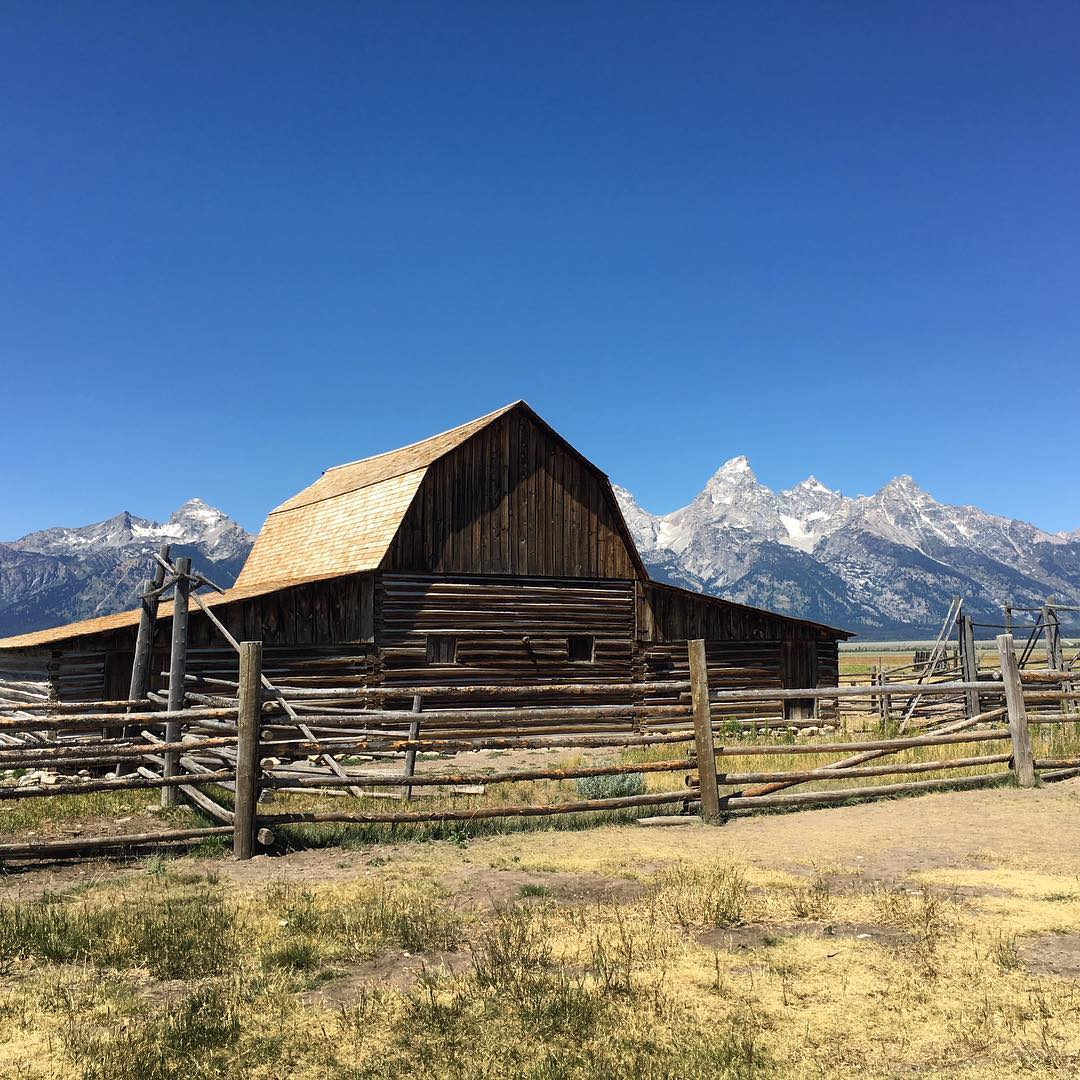 Most Photographed Barn