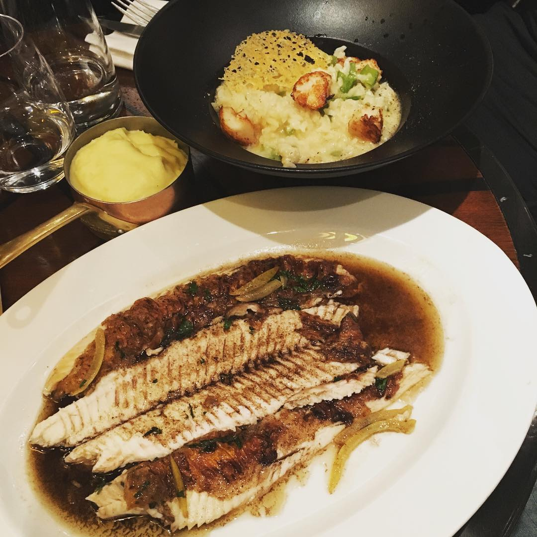 Seafood at Garnier