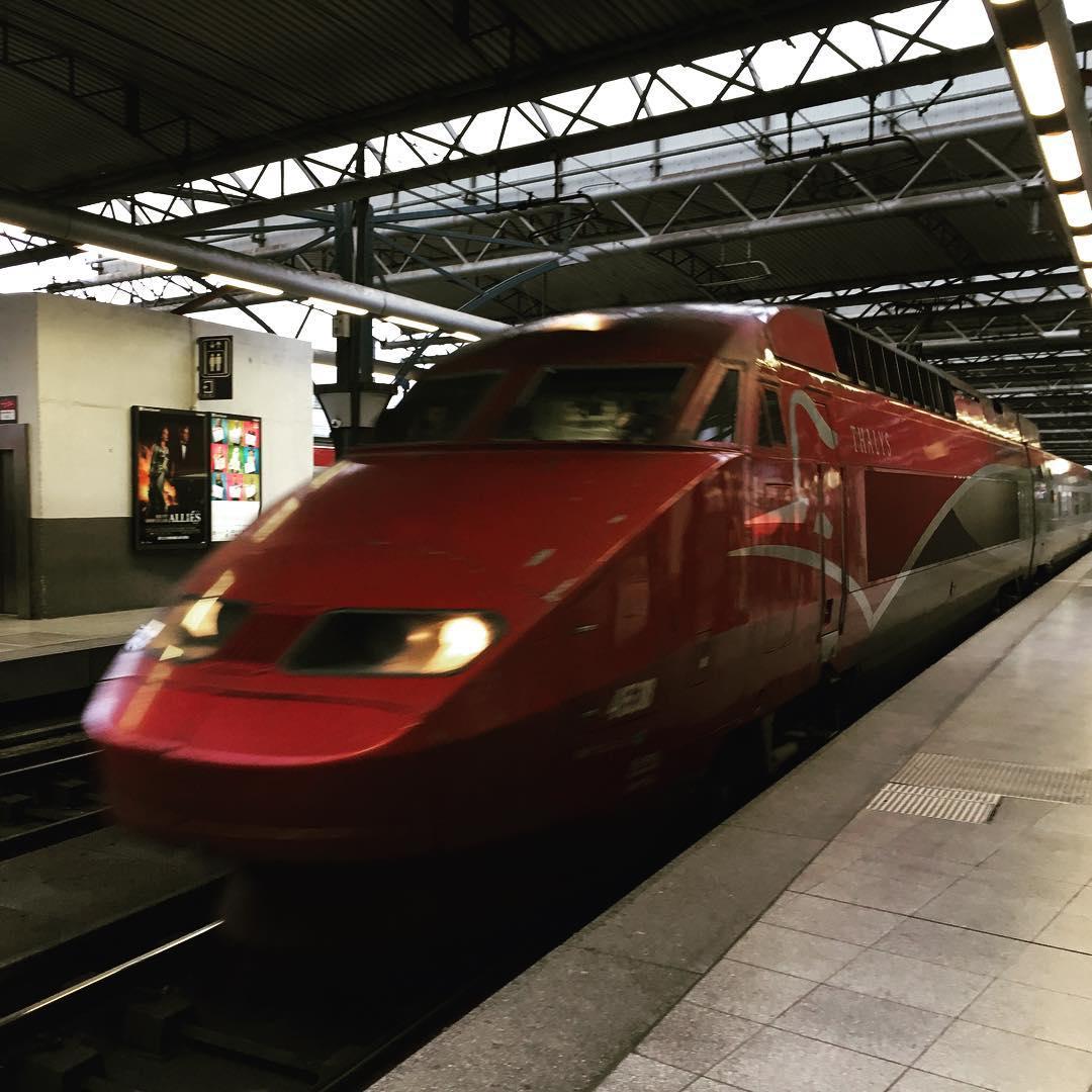 Train to Amsterdam