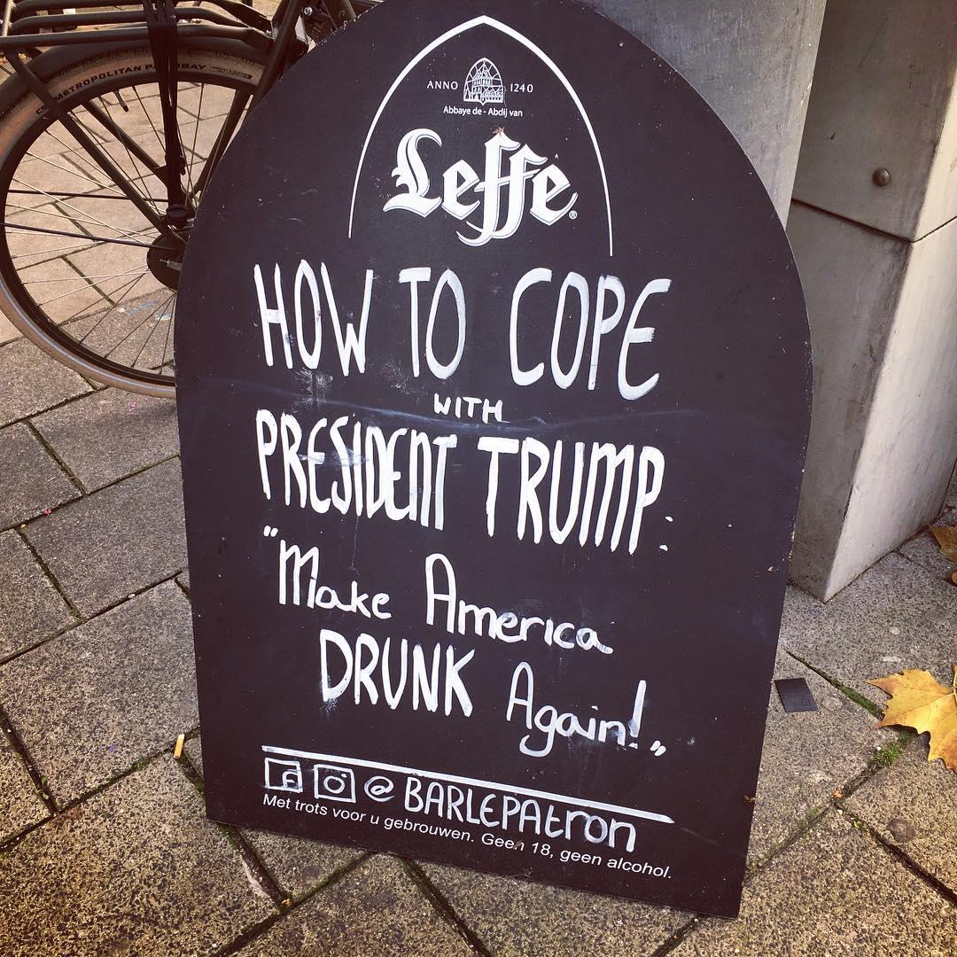 Amsterdam Trump Love