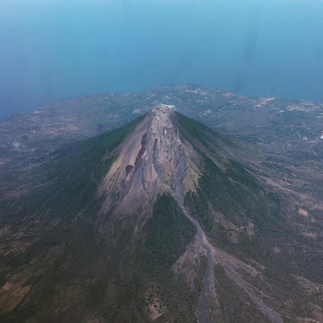 Over Volcano