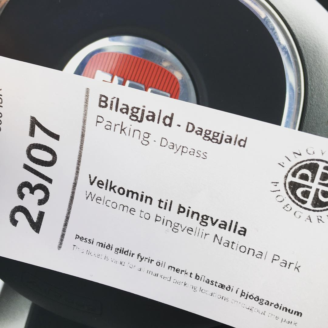 Þingvellir Ticket