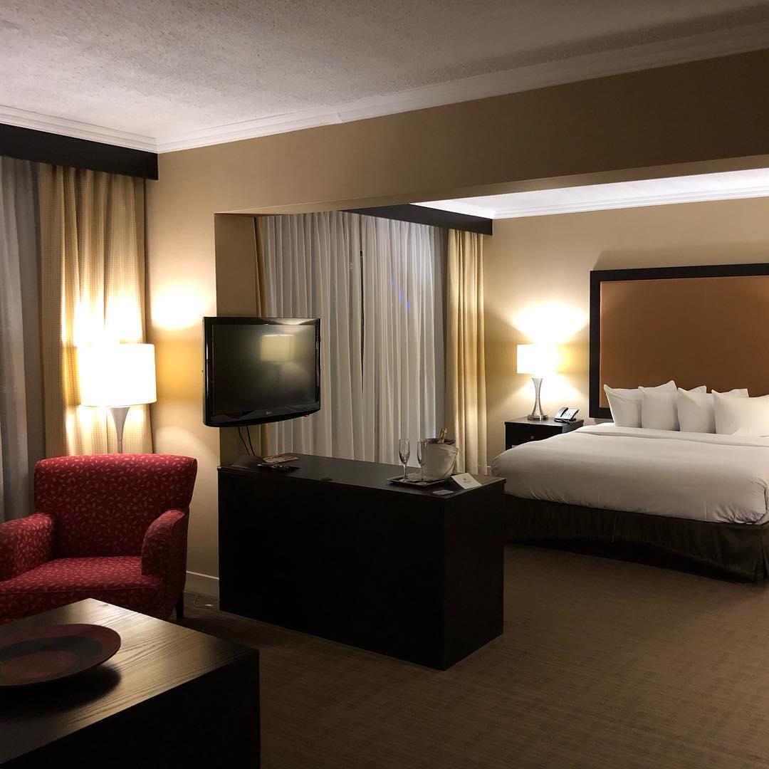 Our Hilton Suite