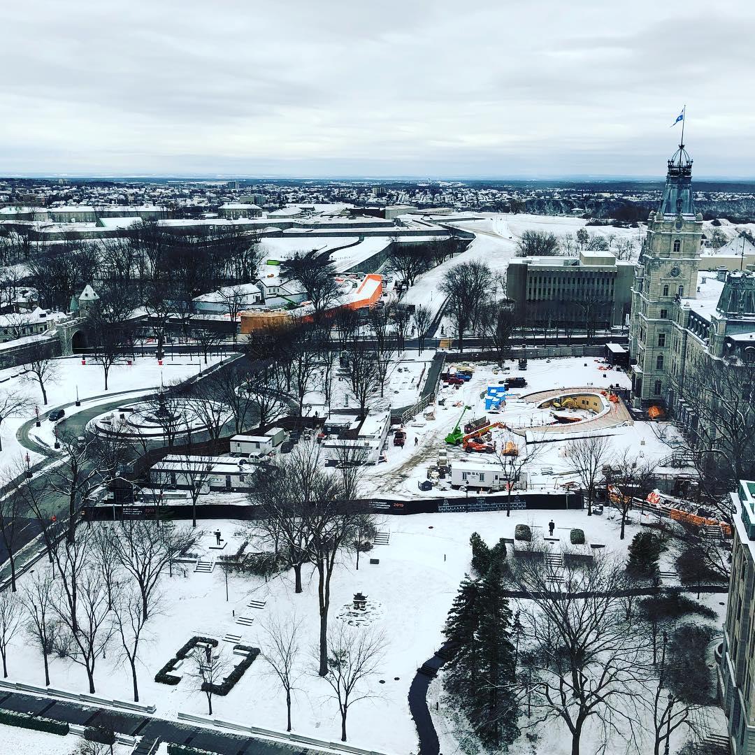 Quebec Snow