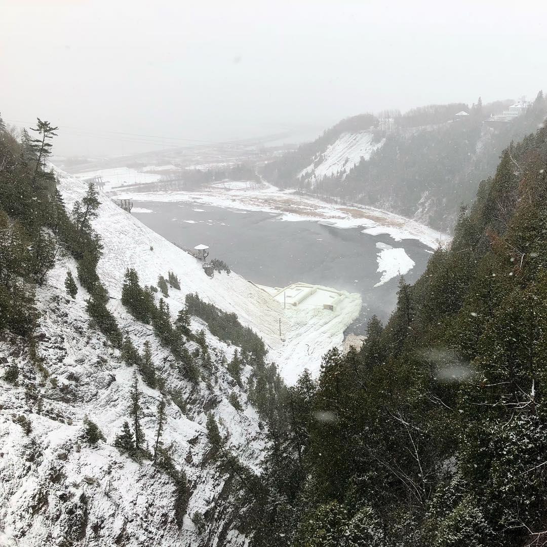 View From Parc de la Chute