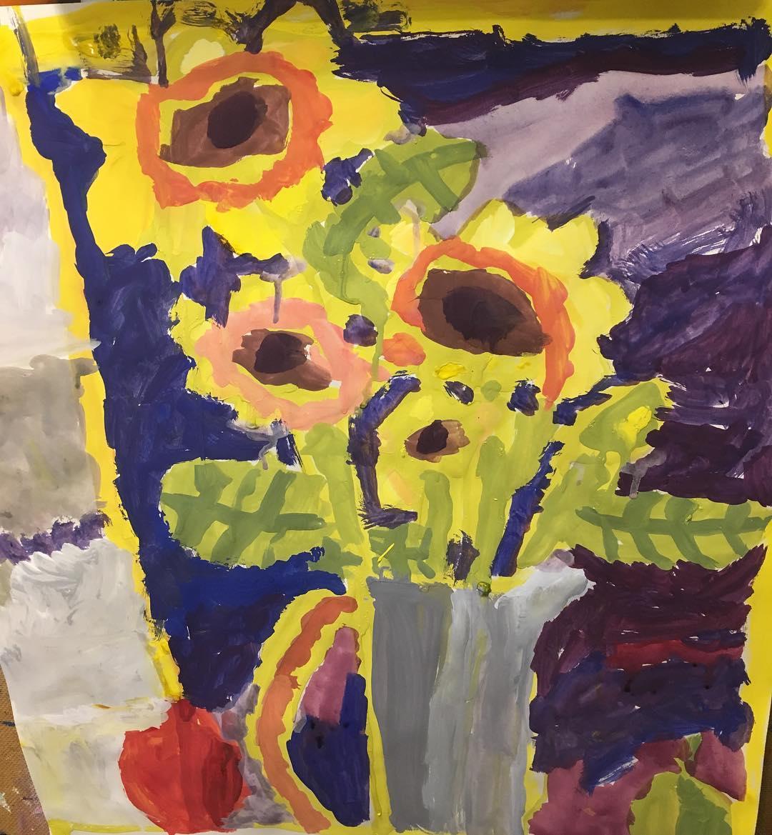 Arosha's Sunflowers
