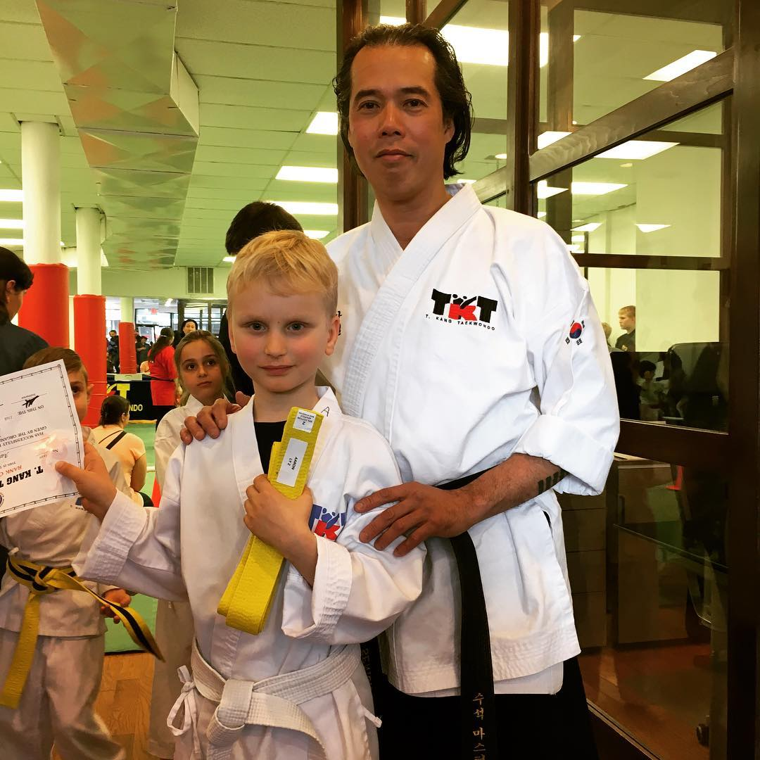 Master Ma and Yellow Belt
