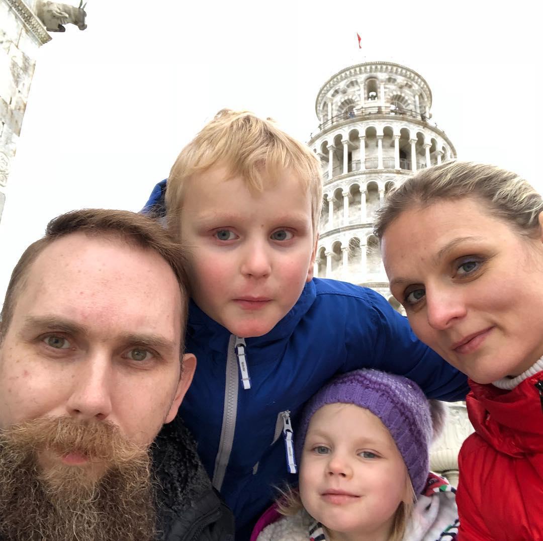 Selfie in Pisa