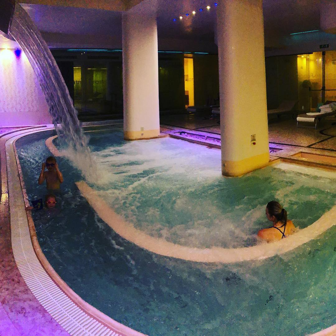 Massive Hot Tub
