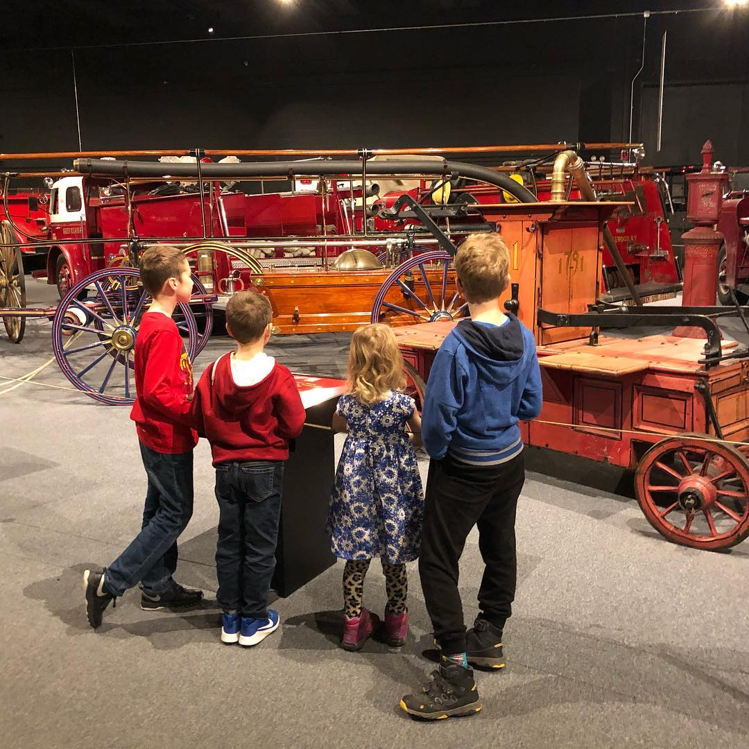Kids and Fire Engines