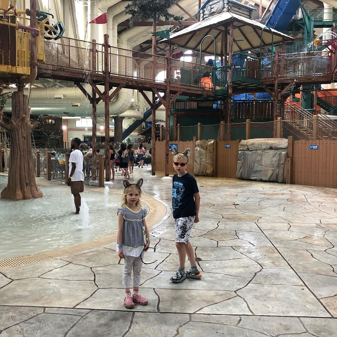Inside Great Wolf Lodge