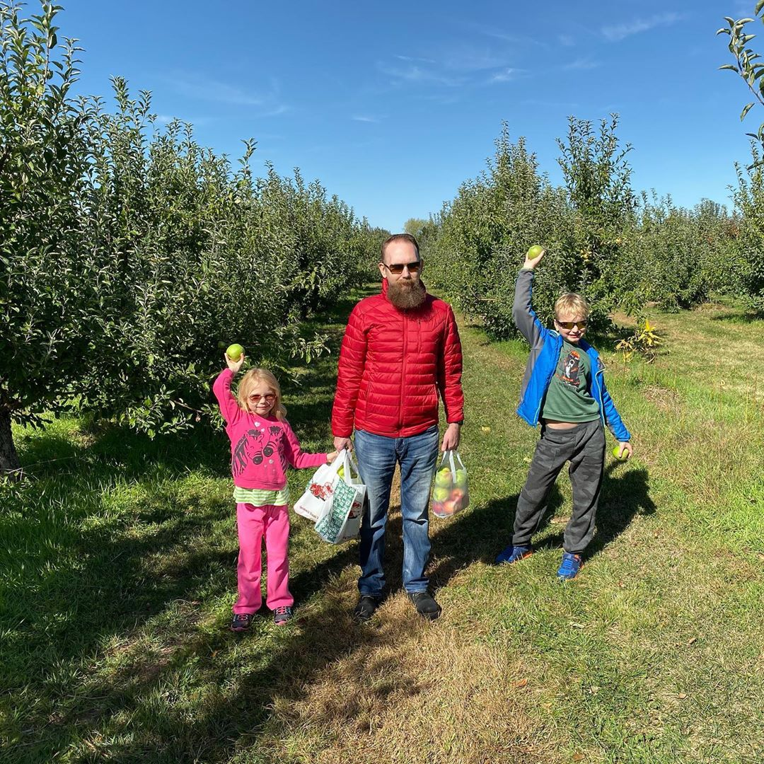 Yearly Apple Picking